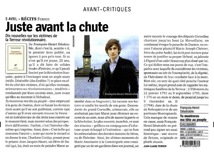 Livre Hebdo-Désérable-Avril 2013